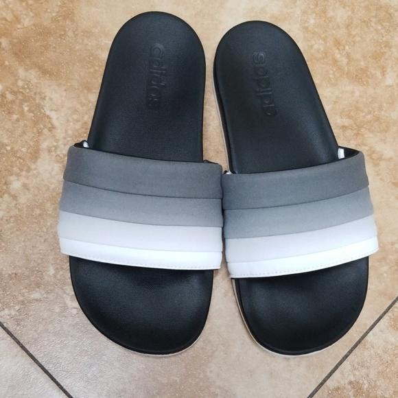 37643b547 adidas Shoes - Adidas adilette cf armad ombre slides sz 7